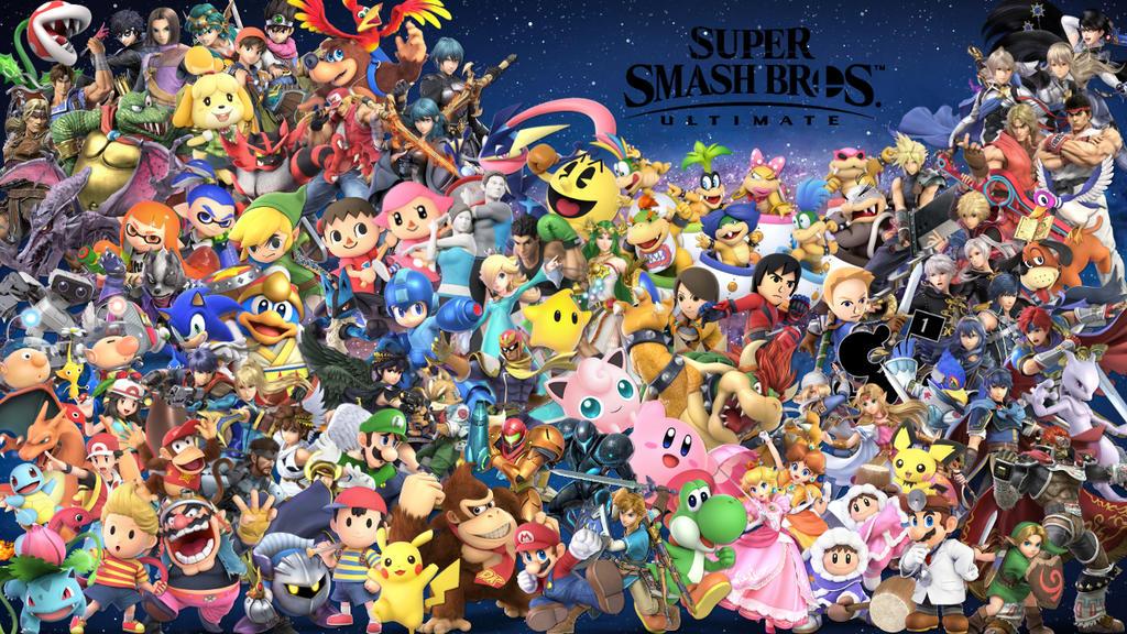 Super Smash Bros. Ultimate Wallpaper 1/25/20 by Erron ...