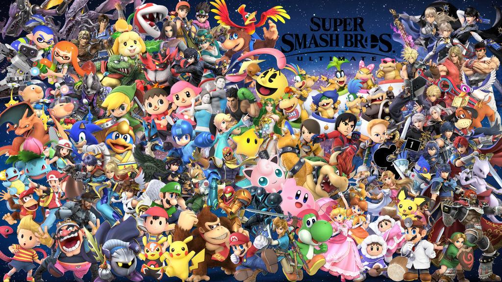 Super Smash Bros. Ultimate Wallpaper 6/14/19 by Erron ...