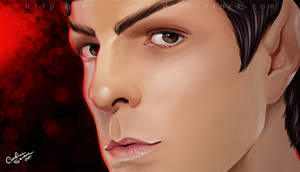 Mr Spock by Queen-Uriel