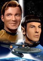 Classic Star Trek by Queen-Uriel