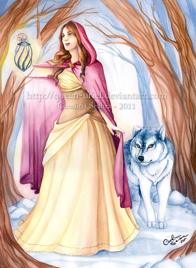 A Red Riding Hood by Queen-Uriel