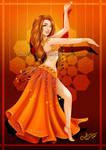 Orange Dancer