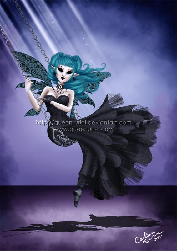 Melancholic Swing by Queen-Uriel