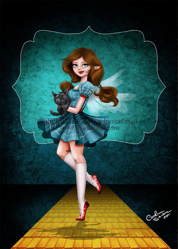 Dorothy and Toto by Queen-Uriel