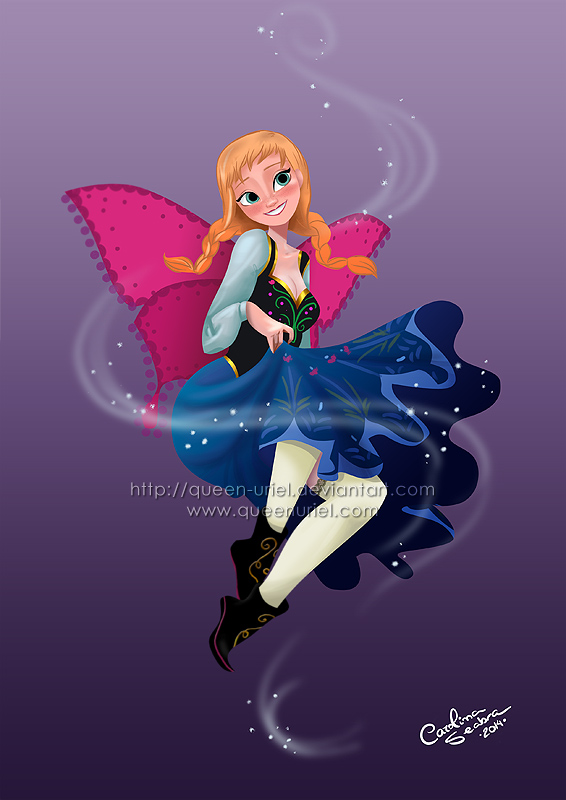 Fairy Princess Anna by Queen-Uriel