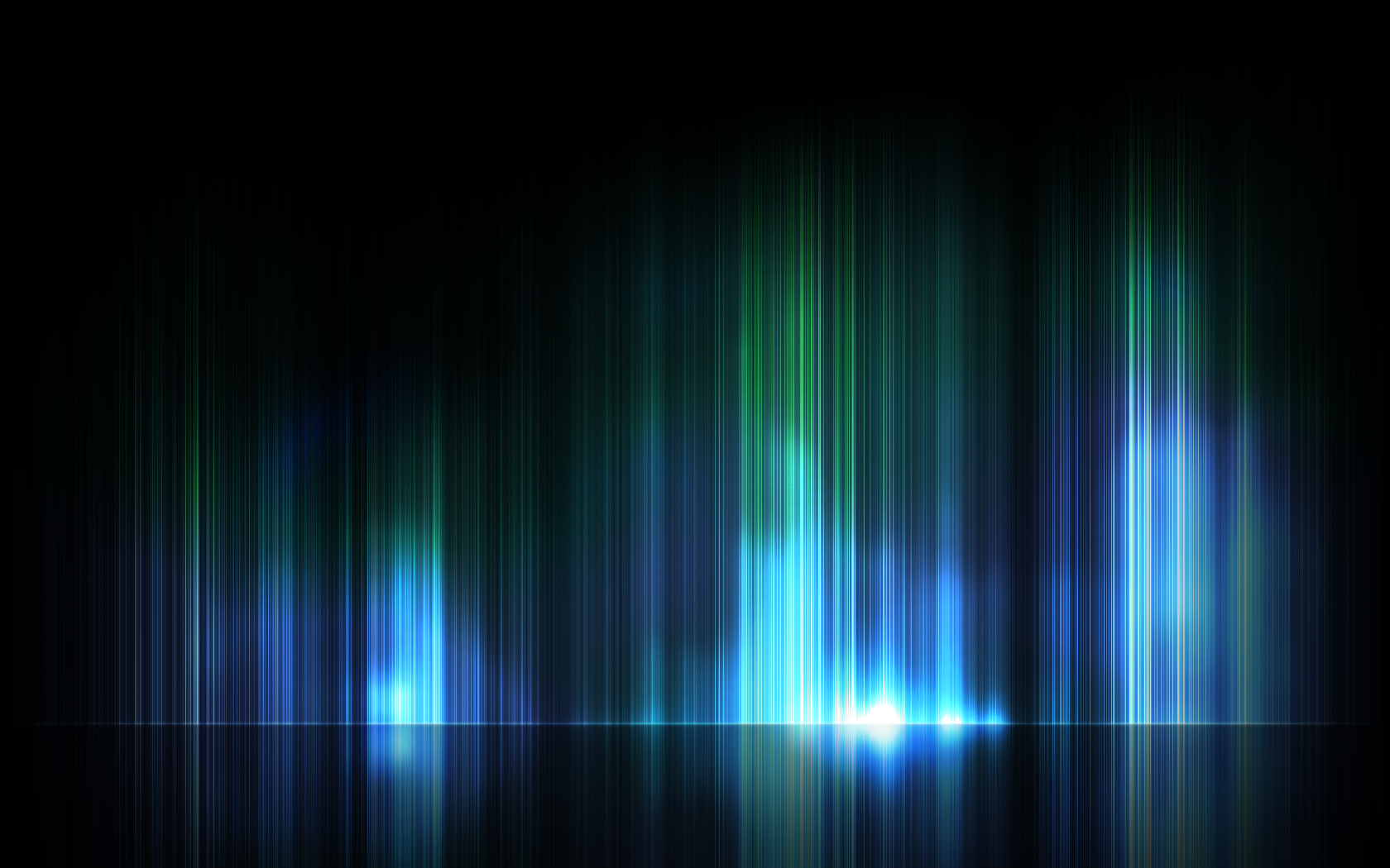 Abstract Glowy Lines 1680x1050 By DataNalle
