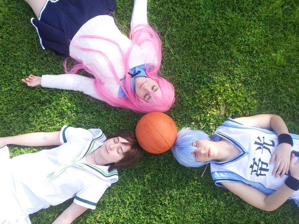 Kuroko no Basket by nurunuriko