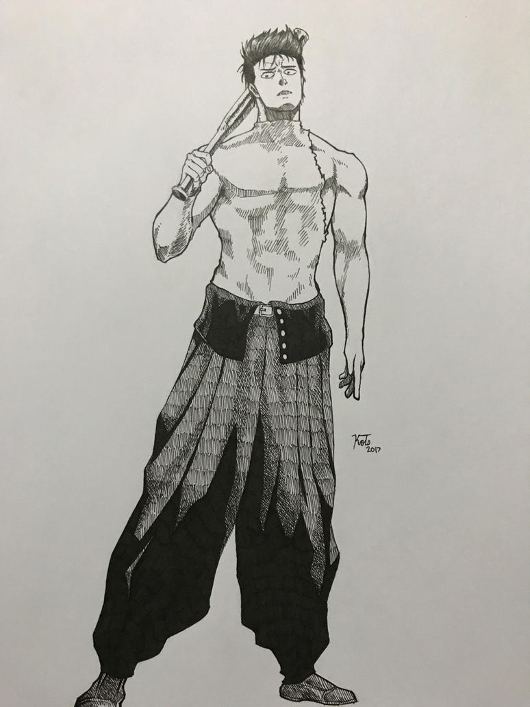INK-Metal Bat by azfacer