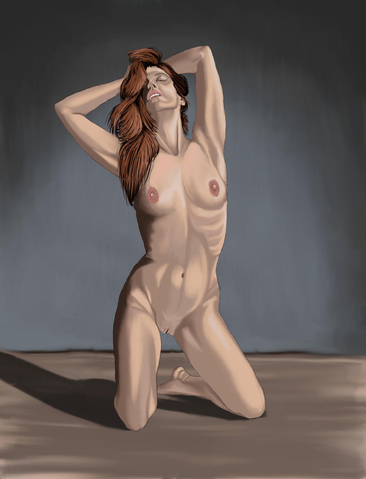 Learning Painter Nude Study by LostLinkArt