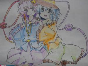 Koishi and Satori