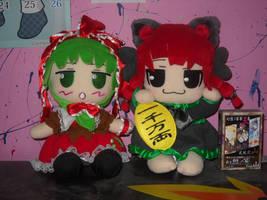 Hina and Rin plushies