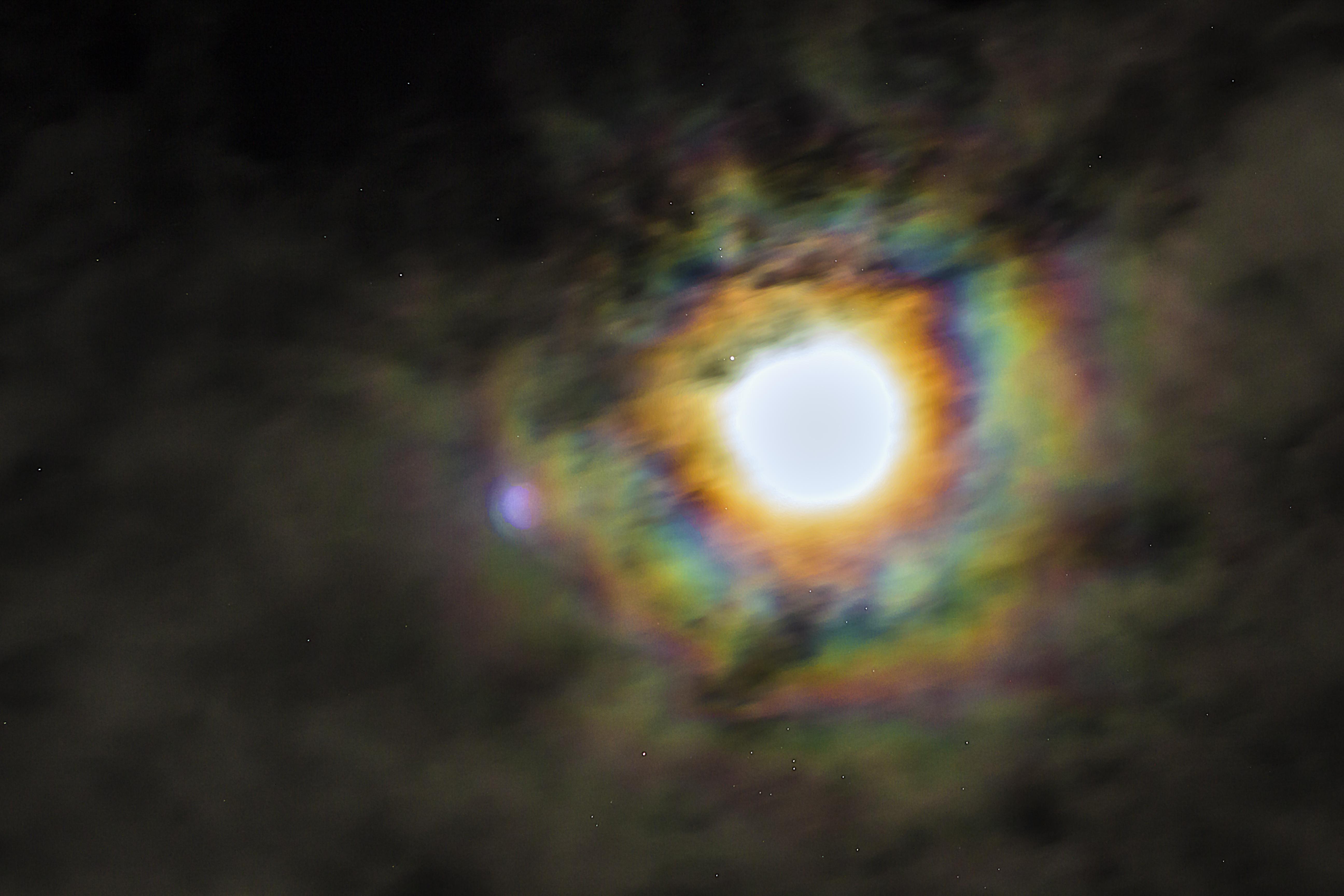 Moon Rainbow Halo by WerdGhana on DeviantArt