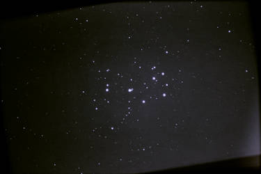 Pleiades M44 - Open Cluster by WerdGhana