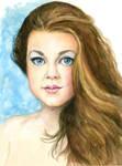 Rebecca: Watercolor