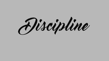 Discipline: Free Wallpaper