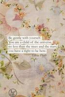 Sylvia Plath Quote Phone Wallpaper