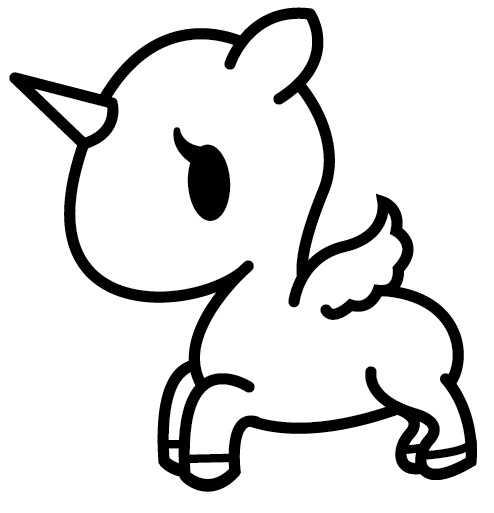tokidoki unicorno base no mane tail by umbreon72 on deviantart
