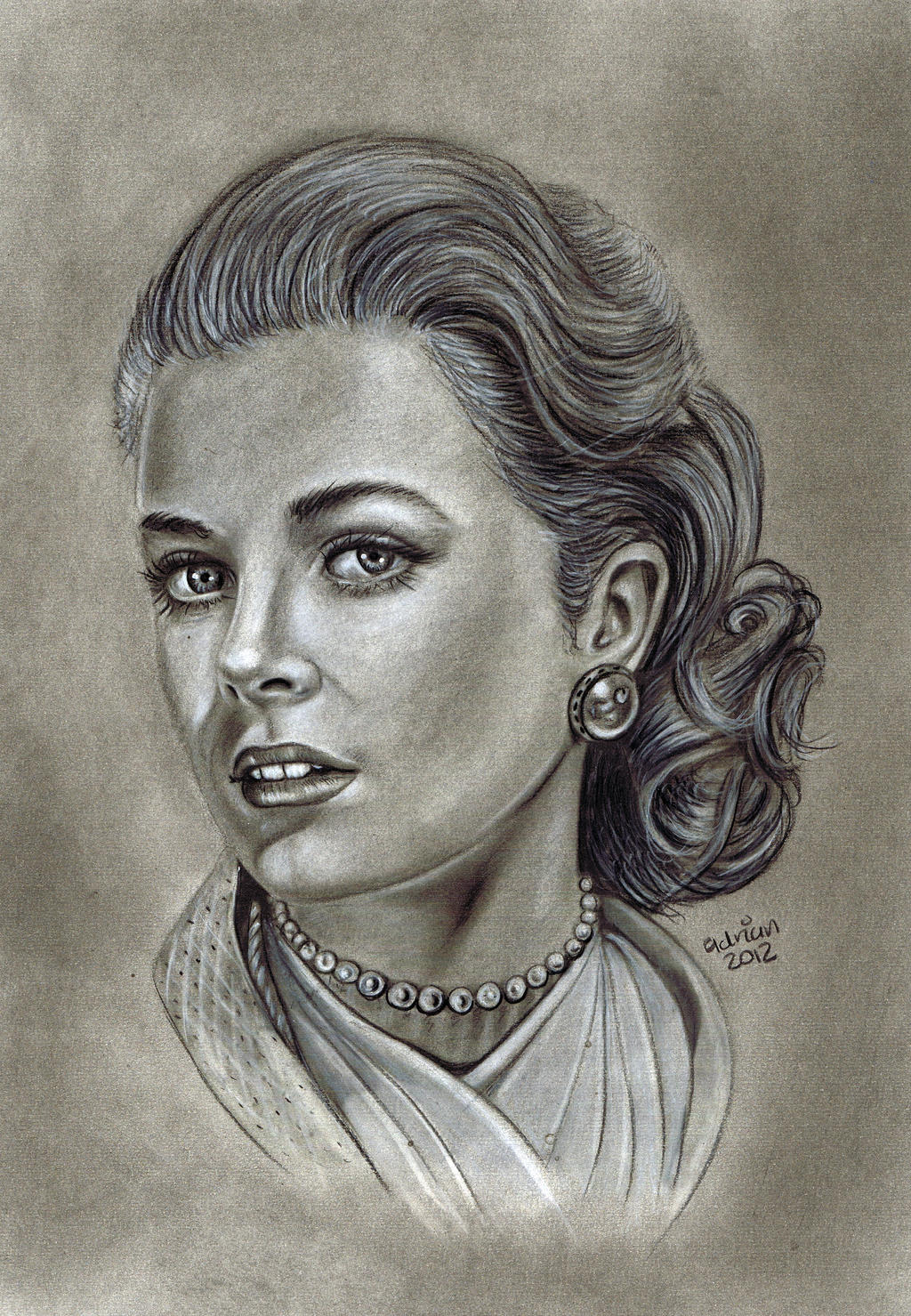 Grace Kelly by ADRIANSportraits