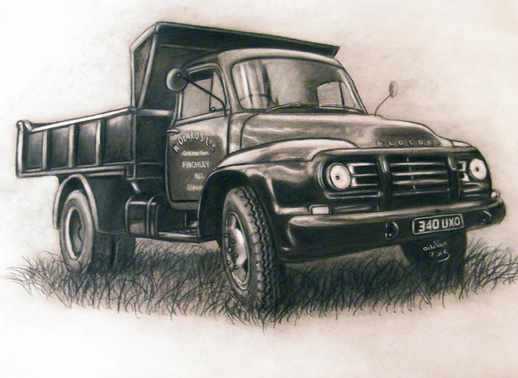 1960 Bedford Lorry commission by ADRIANSportraits
