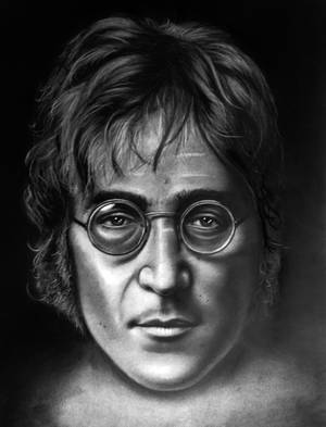 quick John Lennon sketch by ADRIANSportraits