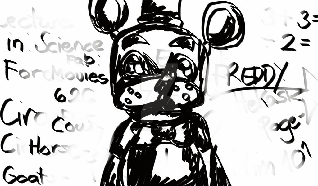 Marker Draw Freddy Fazbear by MerindaGena53 on DeviantArt