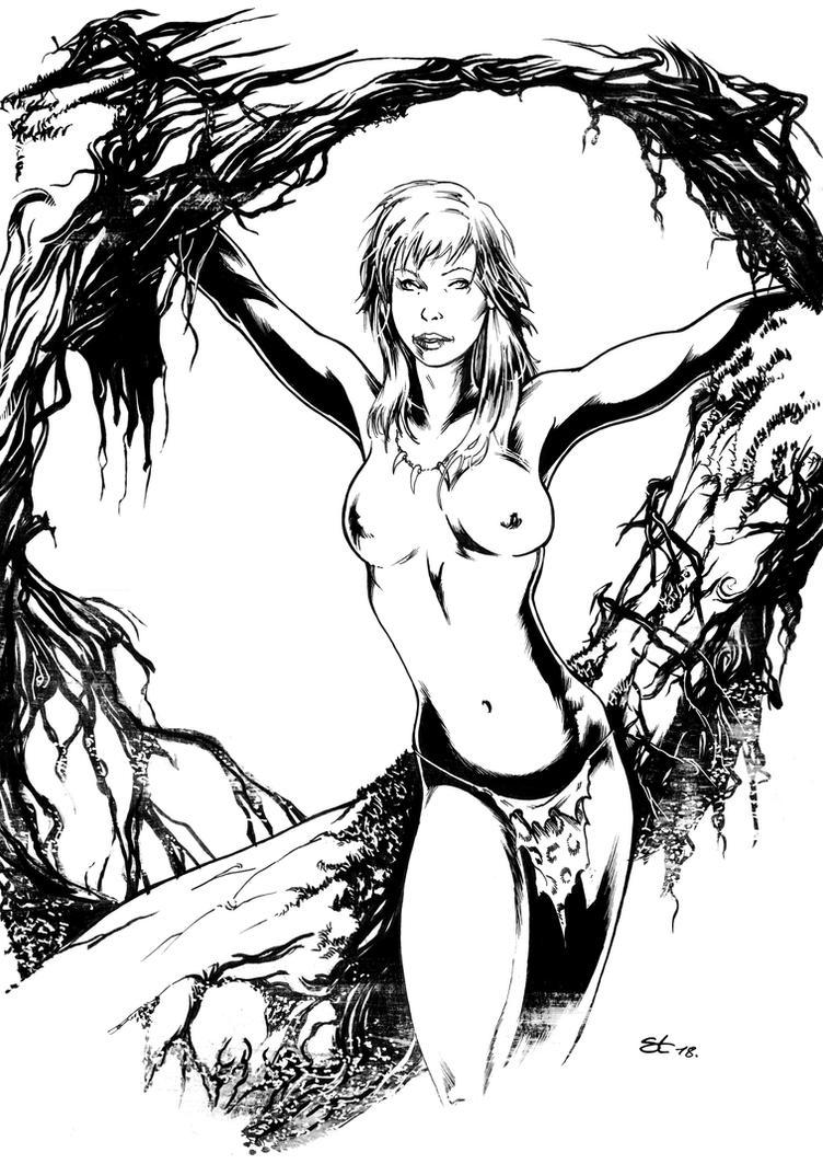 Jungle girl by darnet
