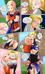 Android 18 meets Krillin - [H Comic] Pag 2