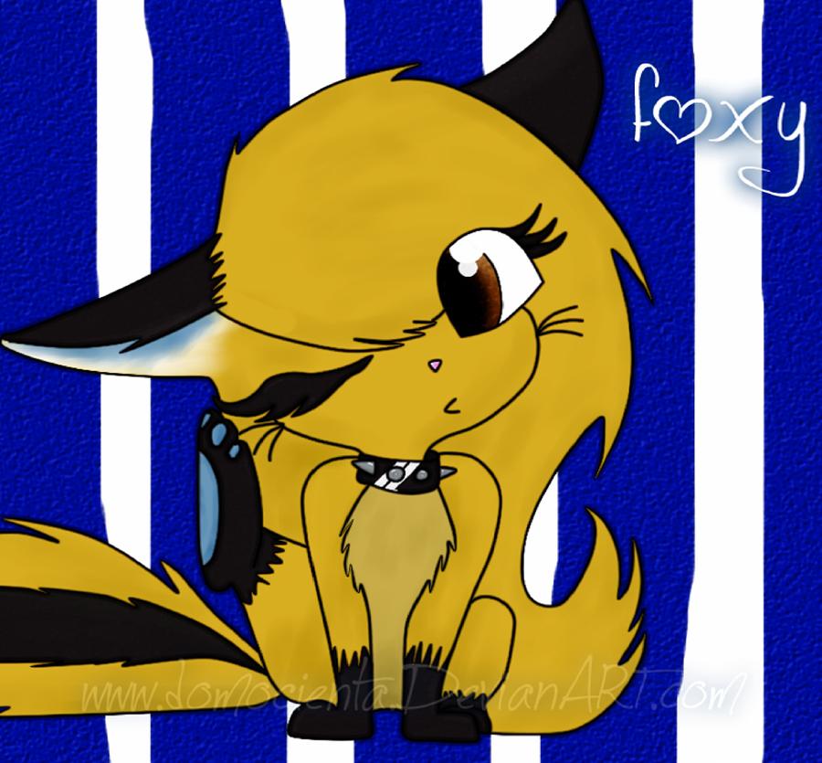 ..:new foxy:.. by domocienta