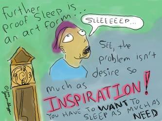 Sleep Inspiration by marr0w