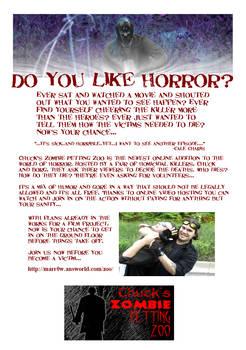 Do you like horror?