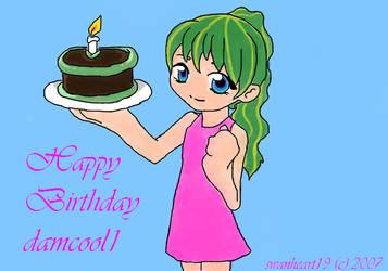 Happy Birthday damcool1 by TypoSvima
