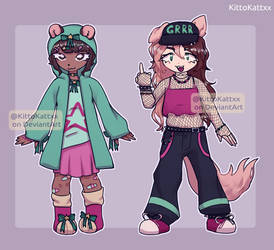[$1 SB AUCTION] Adoptables [OPEN] by KittoKattxx