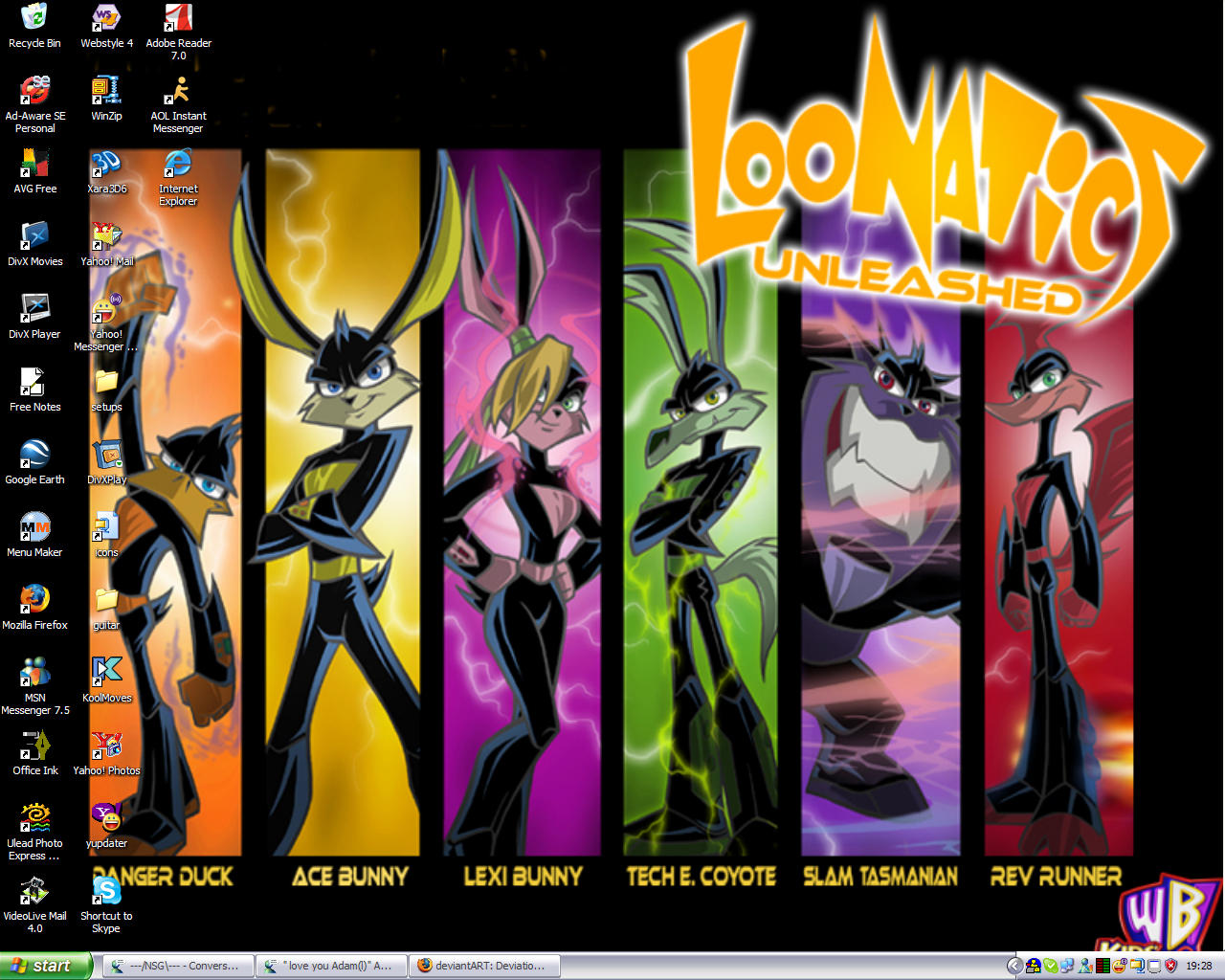 Loonatics Desktop by RickyDutton