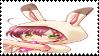 Bunny Romano stamp by Kaze-yo