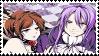 Venomania- Gakupo x Meiko stamp by Kaze-yo