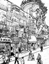 An Ordinary Kowloon Dragon by Silkkat