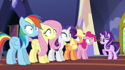 Starlight gives orders to the main five S6E21 by XaldinWolfgang