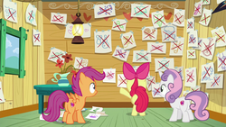 CMC with papers showing what they could do crossed by XaldinWolfgang