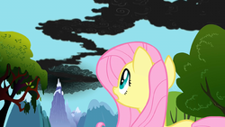 Fluttershy notices the smoke S01E07 by XaldinWolfgang