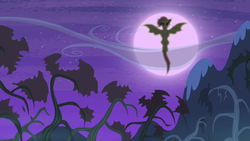 Flutterbat in the moonlight S4E07 by XaldinWolfgang