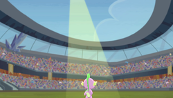 Spike in the spotlight S4E24 by XaldinWolfgang