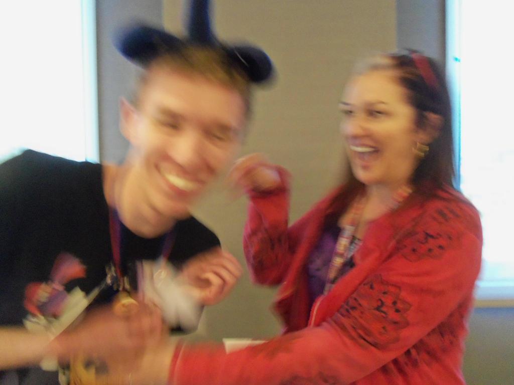 Tabitha St. Germain Tickling me AGAIN at BABSCon by XaldinWolfgang