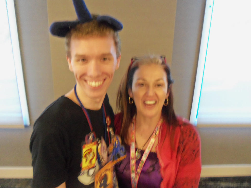 Me and Tabitha St. Germain at BABSCon 2017 by XaldinWolfgang