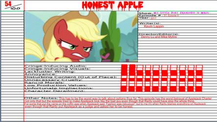 X.W.G Animated Atrocity Honest Apple by XaldinWolfgang