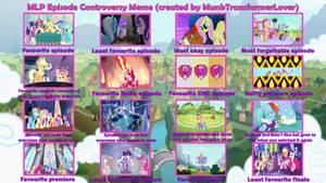 MLP Episode Controversy meme