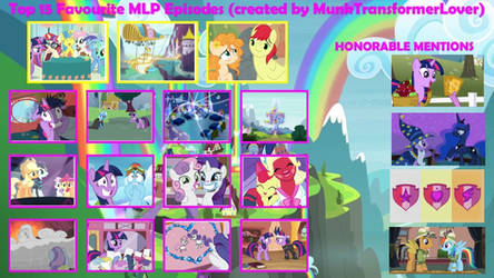Top 15 Favorite Episodes in MLP FiM by XaldinWolfgang