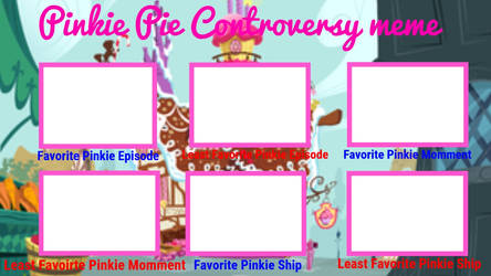 Pinkie Pie Controversy Meme by XaldinWolfgang