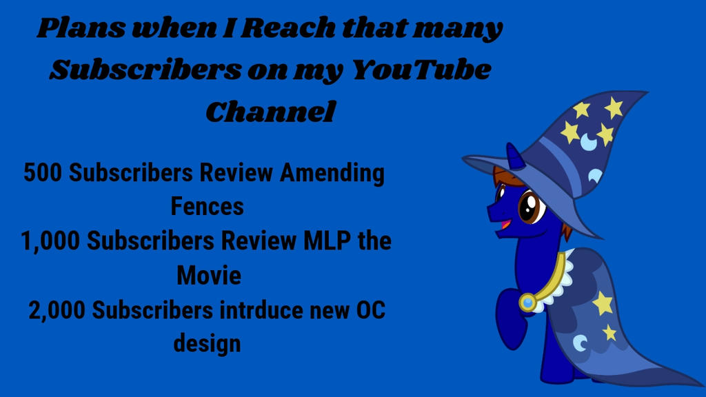 Plans for YouTube Subscriber count by XaldinWolfgang