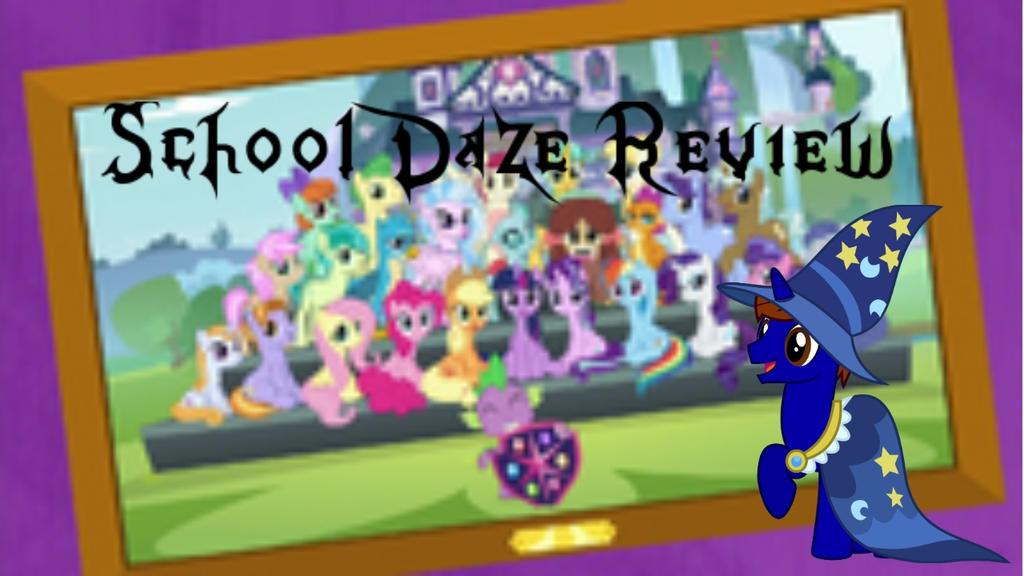 School Daze Title Card Review by XaldinWolfgang