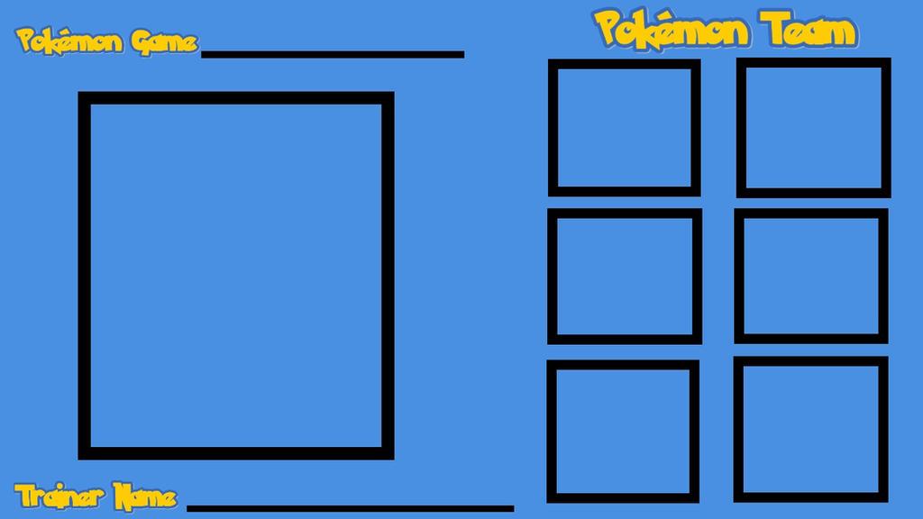 Pokemon Team Blank by XaldinWolfgang